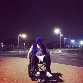 wheelchair off shoot